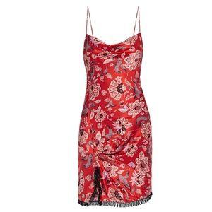 Cinq à sept silk dress